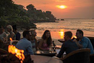 夕日のジンバランカフェ(イメージ)