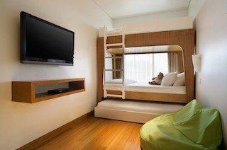 憧れの2段ベッドがあるファミリールーム/パドマ リゾート レギャン