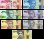 インドネシアルピア紙幣