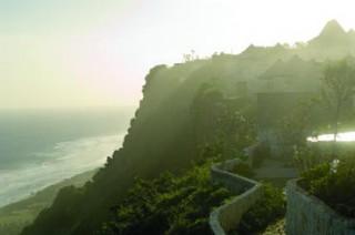 外観(断崖絶壁の上に建つリゾート)/ブルガリ リゾート バリ