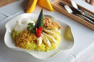 インドネシア料理のご昼食