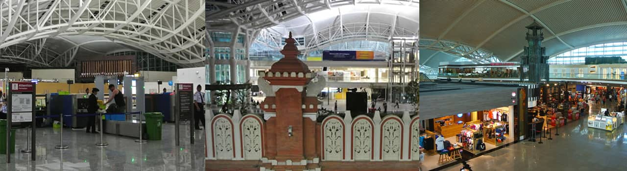 [バリ島旅行ガイド]バリ島のデンパサール国際空港(ングラ・ライ国際空港)施設・サービス紹介と有名観光スポットへのアクセスガイド