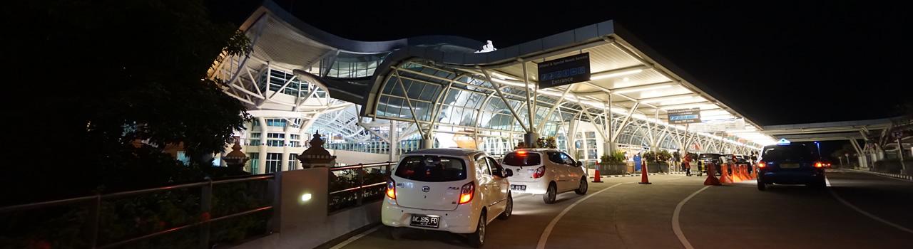 バリ島のデンパサール国際空港(...
