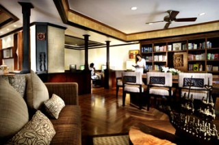 クラブルーム専用のインスピレーションスペース/インターコンチネンタル バリ リゾート