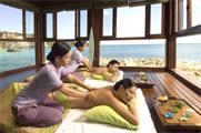 インド洋を一望しながらのスパ/アヤナ リゾート&スパ バリ内