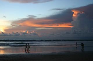 レギャンビーチのサンセット
