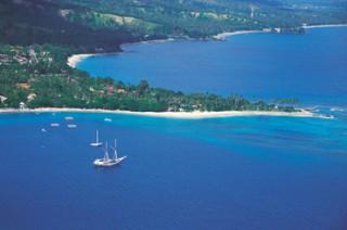 ロンボク島で最初に開発されたスンギギビーチ
