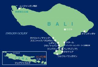 エリアマップ:ロンボク島