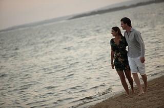 サヌールビーチを散歩