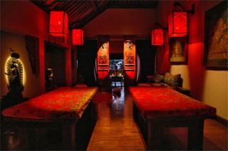 ヒンドゥー教のマントラをイメージしたトリートメントルーム(カマール マントラ)/ホテル トゥグ バリ
